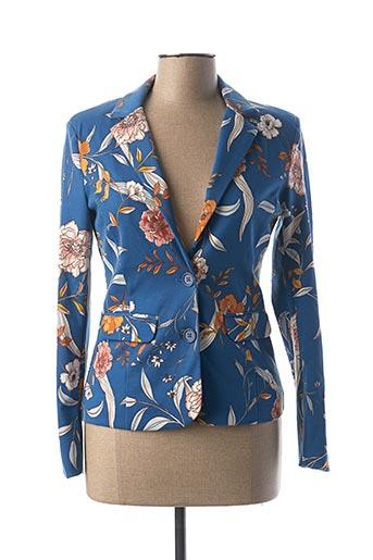 Veste chic / Blazer bleu CREAM pour femme