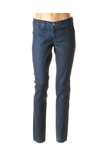 Jeans coupe slim bleu ANCESTRAL GROUND pour femme