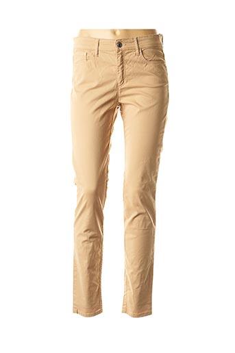 Pantalon casual beige COUTURIST pour femme