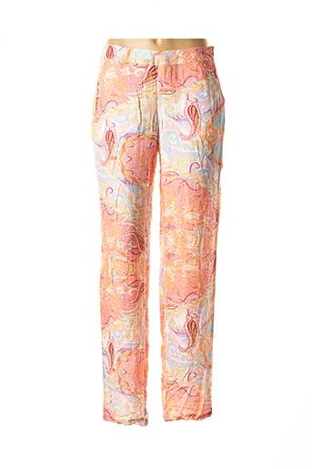 Pantalon casual rose BANDOLERA pour femme
