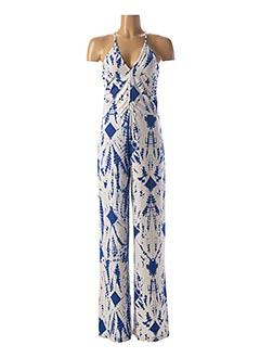 Combi-pantalon bleu ESSENTIEL ANTWERP pour femme