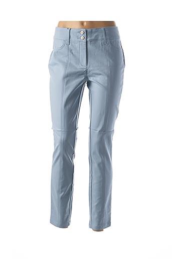 Pantalon casual bleu CLASS INTERNATIONAL FX pour femme