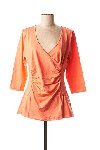 Top orange BC pour femme