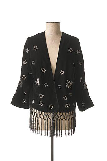 Veste casual noir ASHLEY BROOKE pour femme