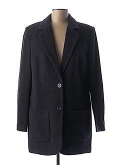 Manteau long bleu BEST CONNECTIONS pour femme
