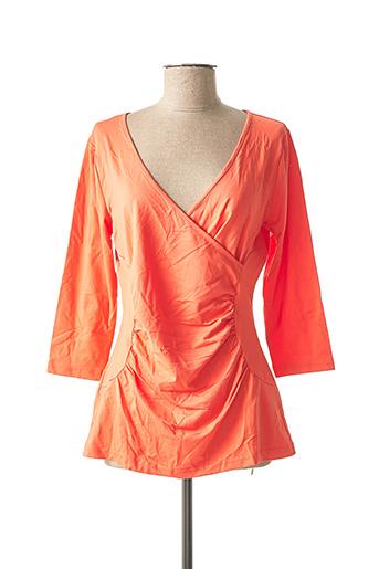 Top orange BEST CONNECTIONS pour femme