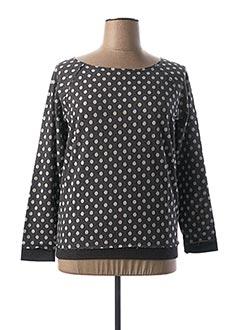 Sweat-shirt noir BEST CONNECTIONS pour femme