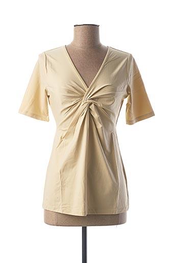 T-shirt manches courtes beige BEST CONNECTIONS pour femme