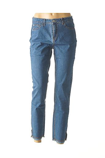 Jeans coupe slim bleu BEST CONNECTIONS pour femme