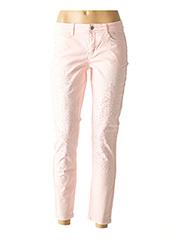 Pantalon casual rose HEINE pour femme seconde vue
