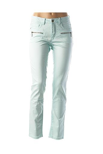 Pantalon casual bleu BEST CONNECTIONS pour femme