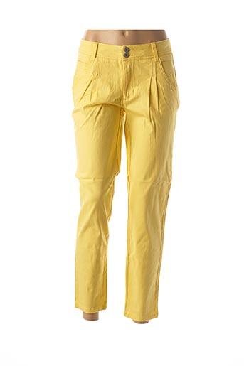 Pantalon casual jaune HEINE pour femme
