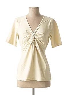 T-shirt manches courtes beige HEINE pour femme