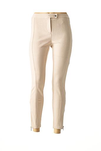 Pantalon casual beige HEINE pour femme