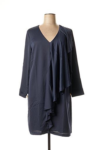 Robe mi-longue bleu HEINE pour femme