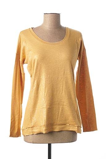 T-shirt manches longues orange HEINE pour femme