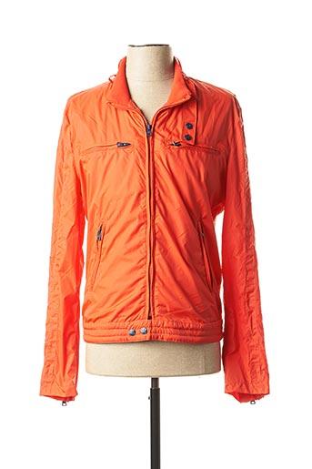 Coupe-vent orange GAUDI pour homme