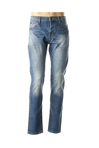 Jeans coupe slim bleu S.OLIVER pour homme