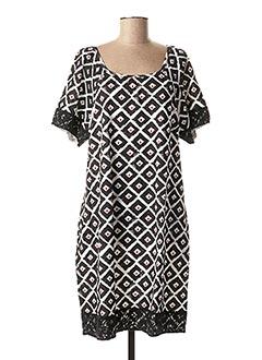 Robe mi-longue noir BAMBOO'S pour femme