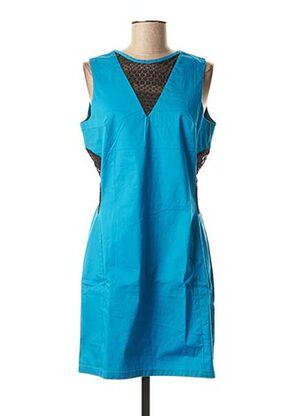 Robe courte bleu BAMBOO'S pour femme