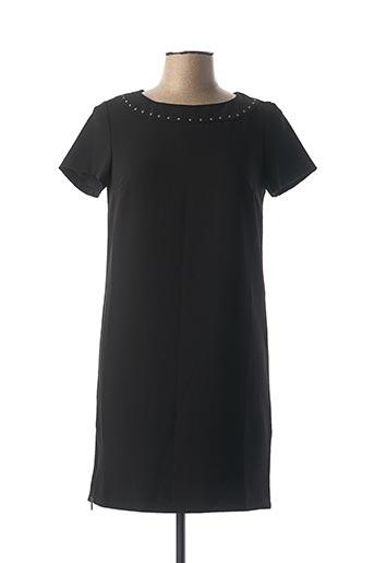 Robe courte noir IKKS pour femme