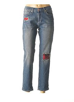Jeans coupe droite bleu FIVE pour femme
