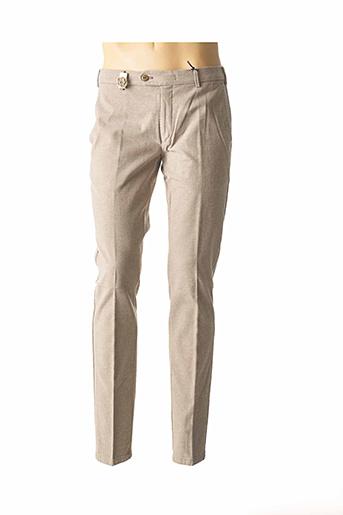 Pantalon chic beige MMX pour homme