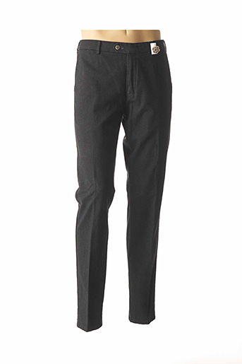 Pantalon casual noir MMX pour homme