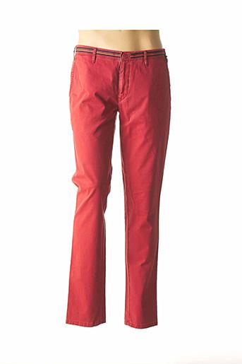Pantalon casual orange MMX pour homme