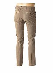 Pantalon casual beige MANUEL RITZ pour homme seconde vue