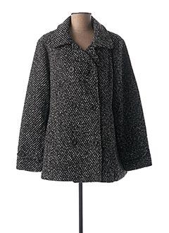 Manteau court noir GRIFFON pour femme