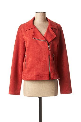 Veste casual rouge DIANE LAURY pour femme