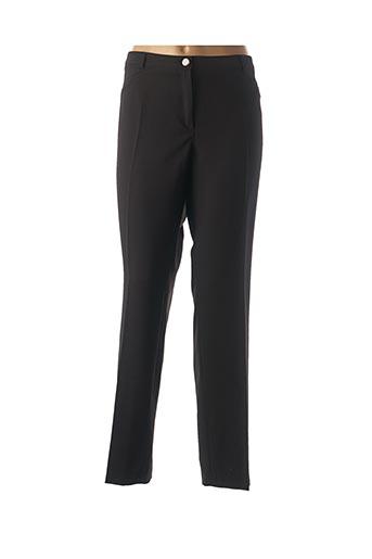Pantalon chic noir DIVAS pour femme
