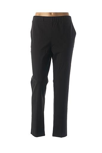 Pantalon chic noir OLIVIER PHILIPS pour femme