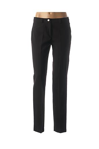 Pantalon casual noir DIVAS pour femme