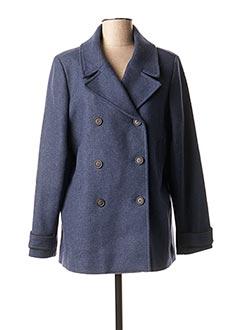 Manteau court bleu MKT STUDIO pour femme