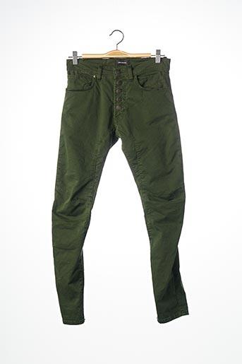 Pantalon casual vert IMPERIAL pour homme