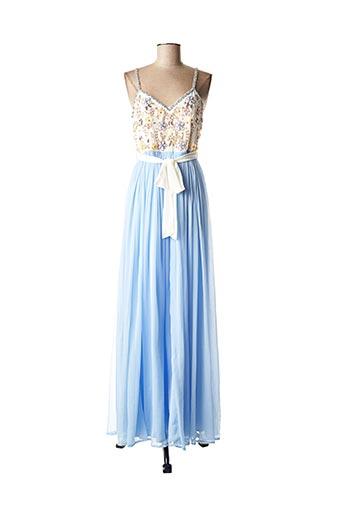 Robe longue bleu FRACOMINA pour femme