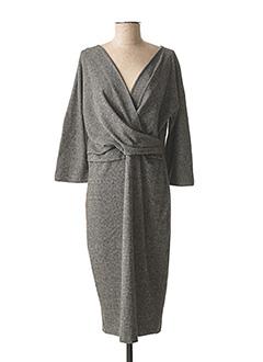 Robe mi-longue noir WEEKEND MAXMARA pour femme