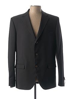 Veste chic / Blazer noir SERGE BLANCO pour homme