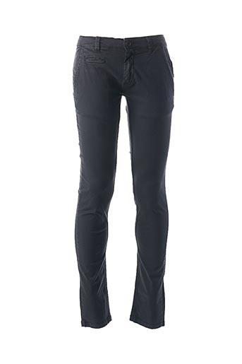 Pantalon casual bleu APOLOGIZE pour homme