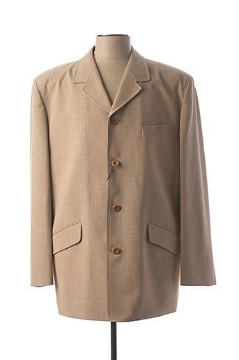 Veste casual beige BUCCINO pour homme
