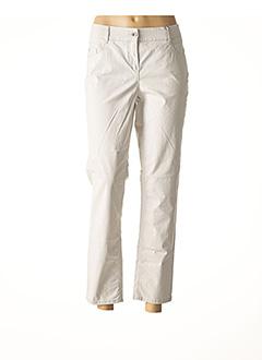 Pantalon 7/8 gris ATELIER GARDEUR pour femme