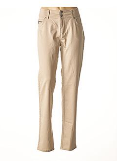 Pantalon casual marron JENSEN pour femme