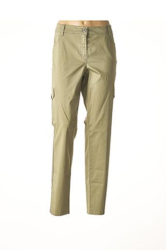 Pantalon casual vert ATELIER GARDEUR pour femme