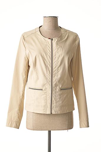 Veste casual beige JOCAVI pour femme