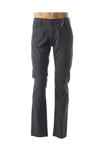 Pantalon casual gris CAMBE pour homme