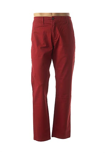 Pantalon casual rouge CAMBE pour homme