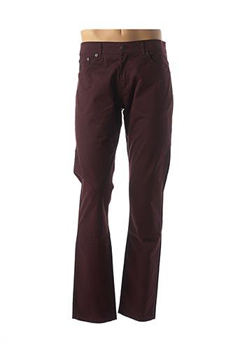 Pantalon casual rouge CRN-F3 pour homme