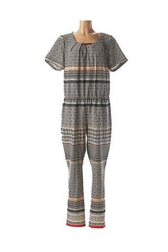 Combi-pantalon gris JULIE GUERLANDE pour femme